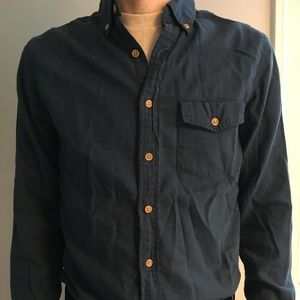 J. Crew Button Down Flannel Shirt (Slim, Size S)